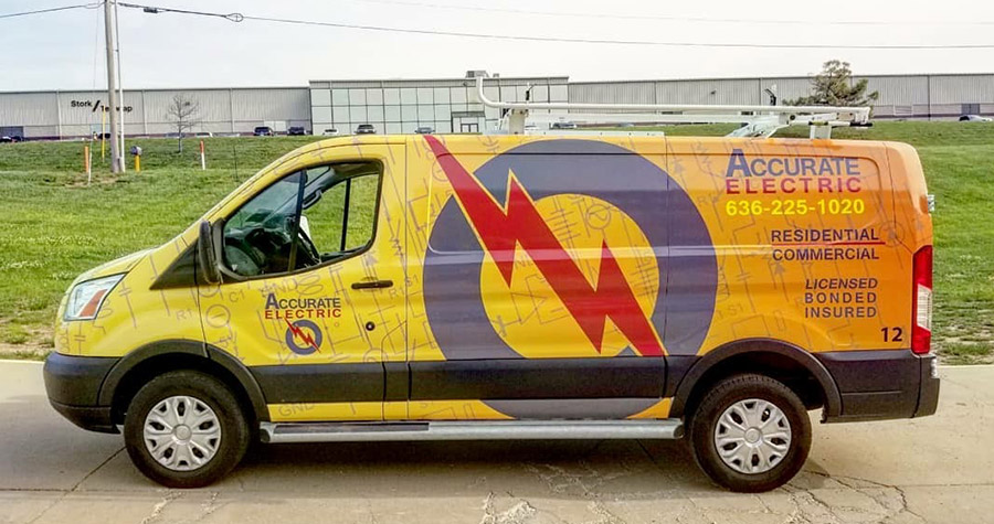 Accurate Electric Commercial Vehicle Wrap