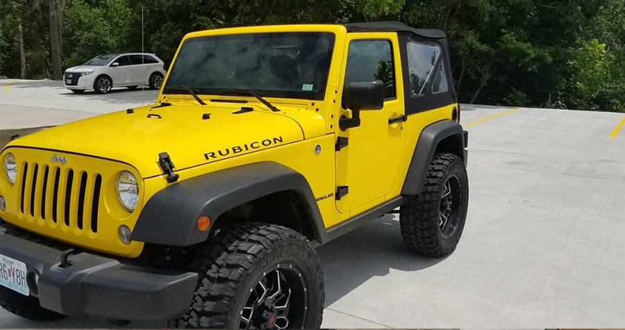 Jeep Rubicon Color Change Wrap