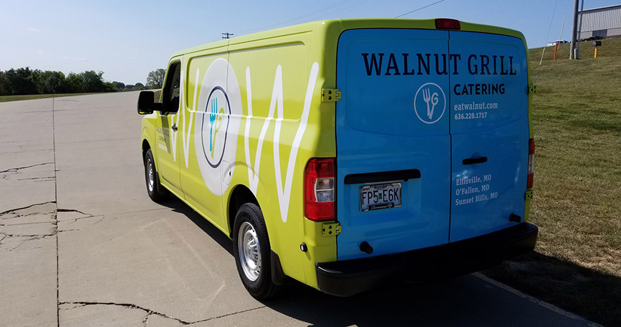 Walnut Grill Commercial Vehicle Wrap