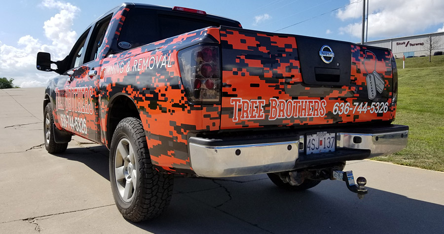 Tree Brothers Commercial Truck Wrap