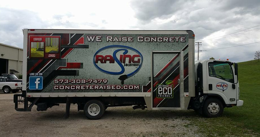 Raising Solutions Commercial Box Truck Wrap