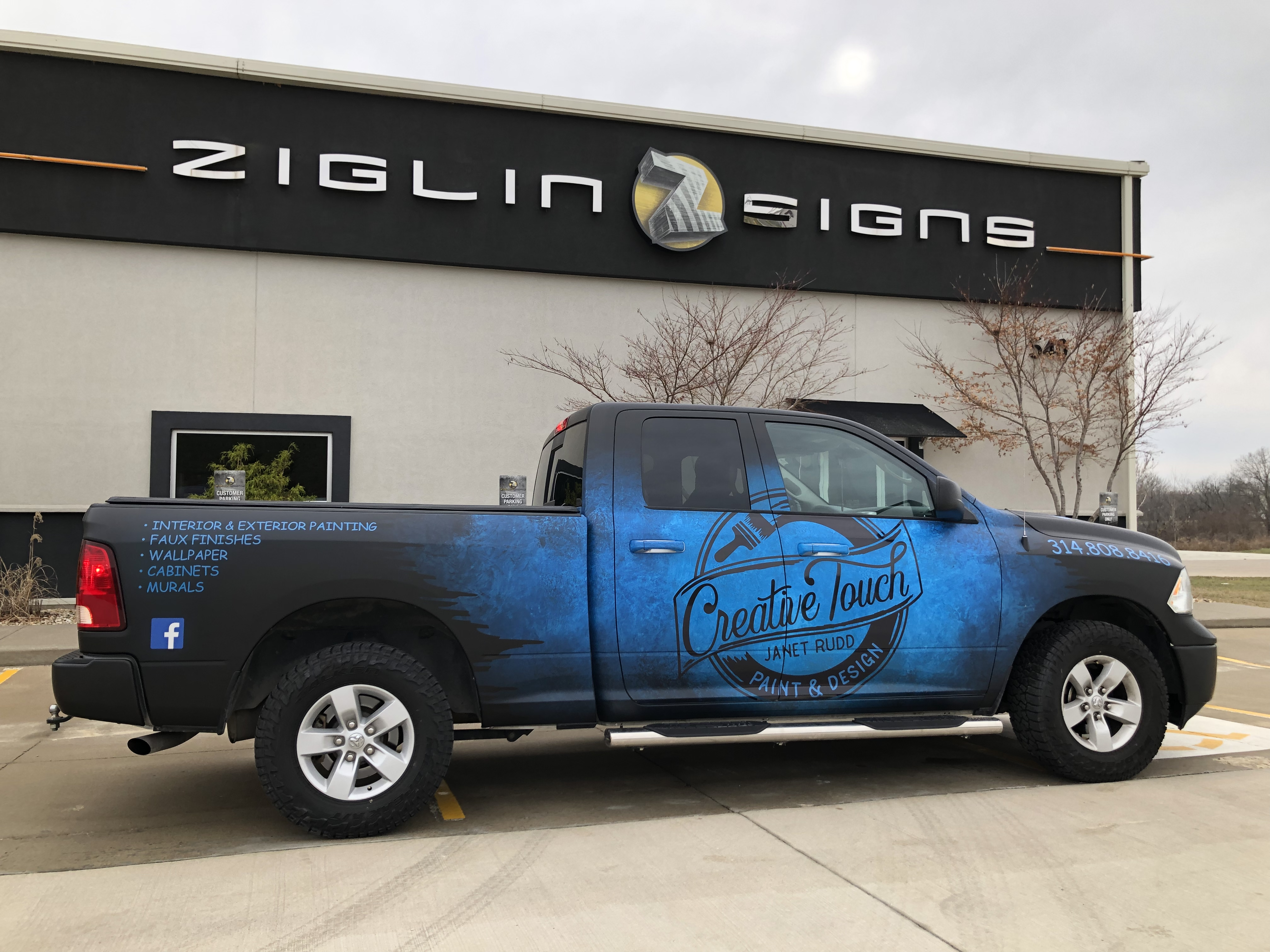 Creative Touch Paint & Design Commercial Vehicle Wrap