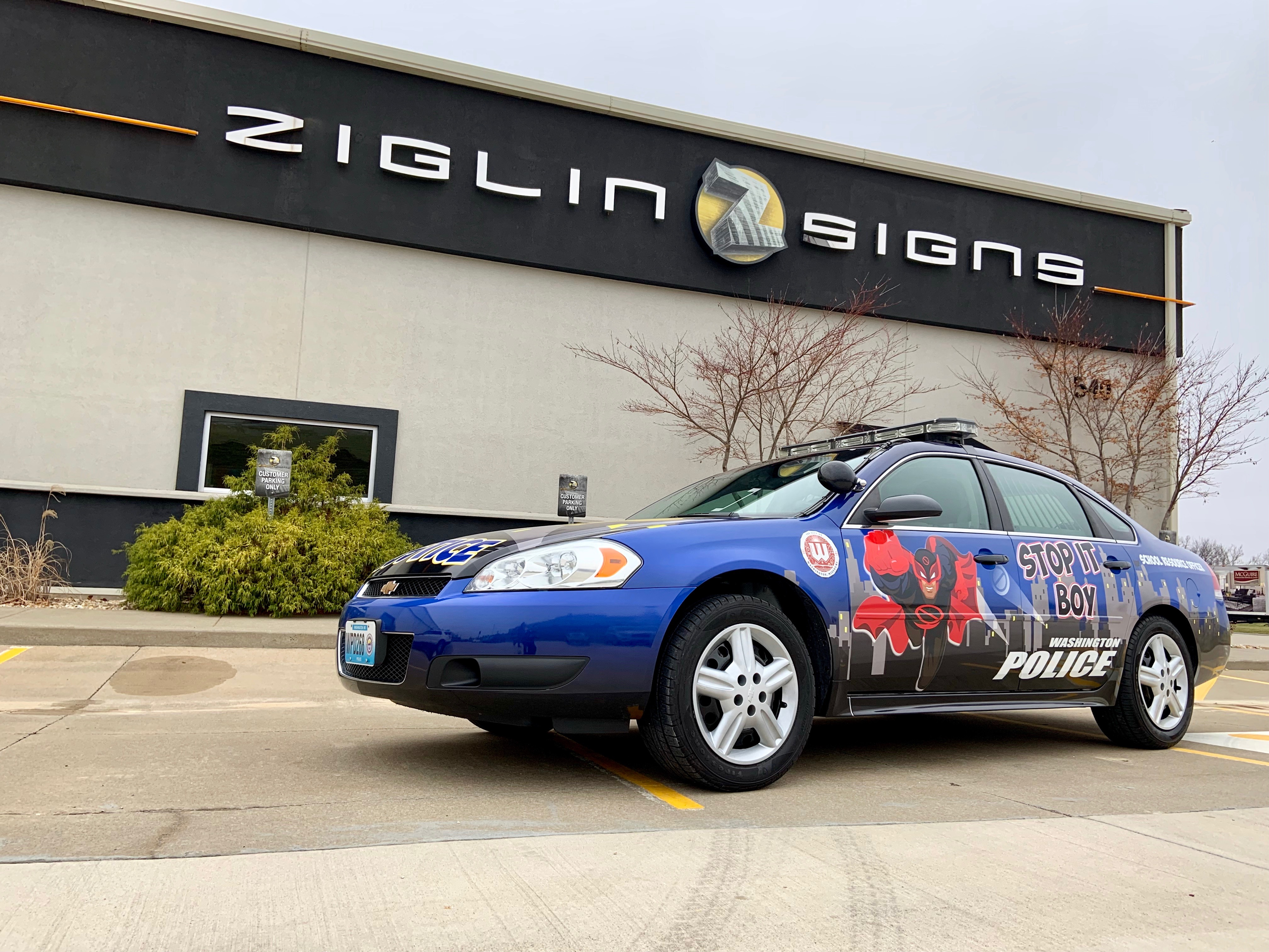 Washington School District SRO Vehicle Wrap
