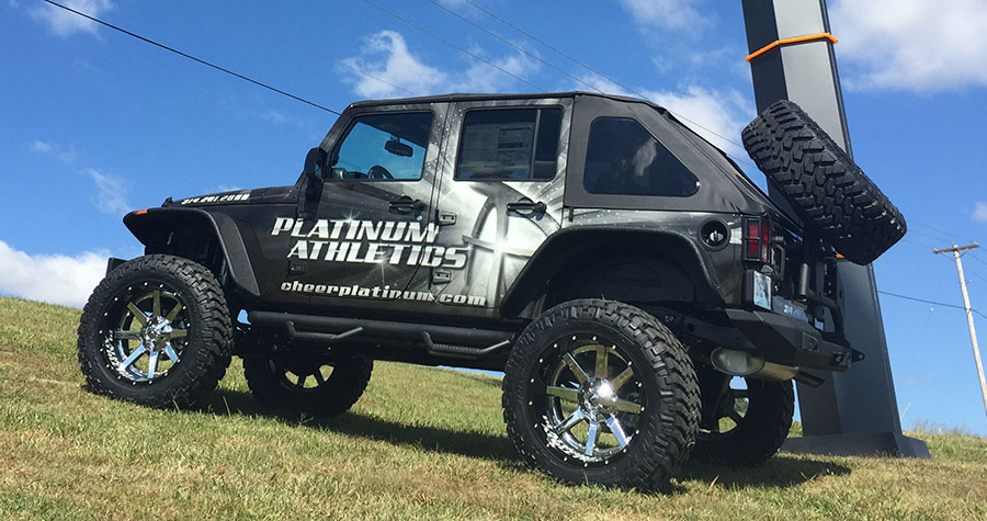 Platinum Athletics Vehicle Wrap
