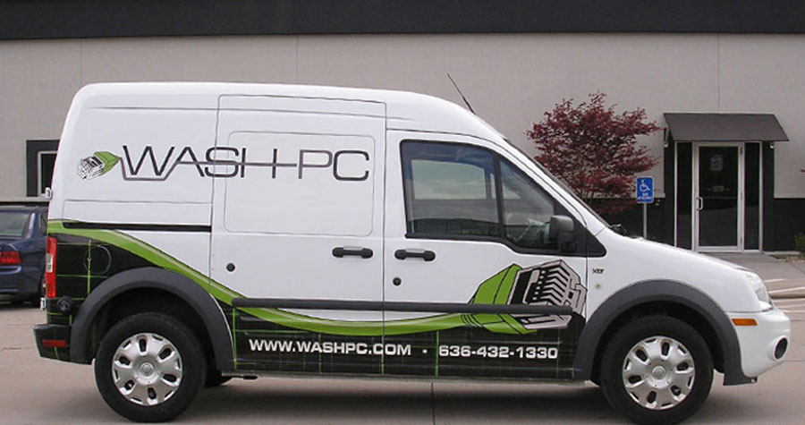 Partial Van Wrap for WashPC
