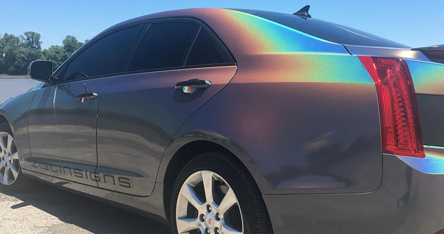 Color Change Vehicle Wrap