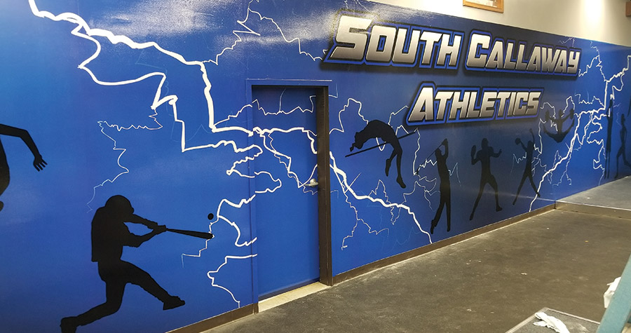 Wall Graphics for South Callaway High School