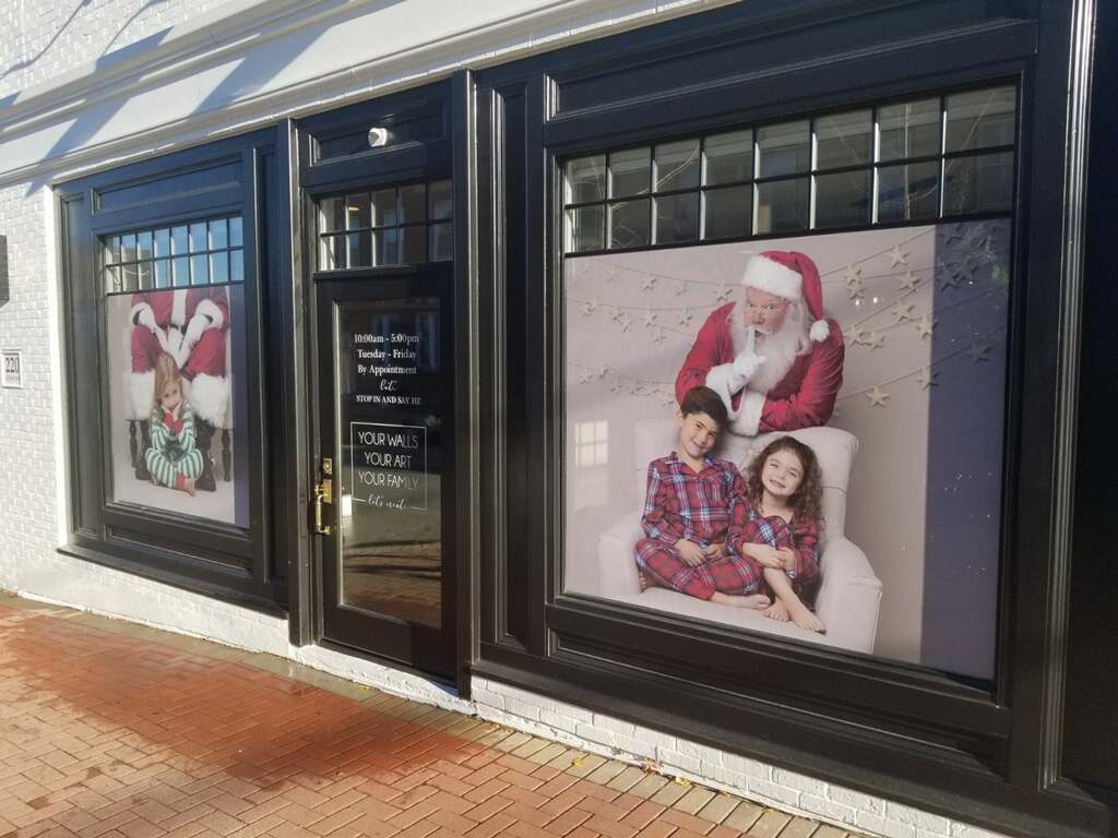 Julie Underdown Photography Window Graphics