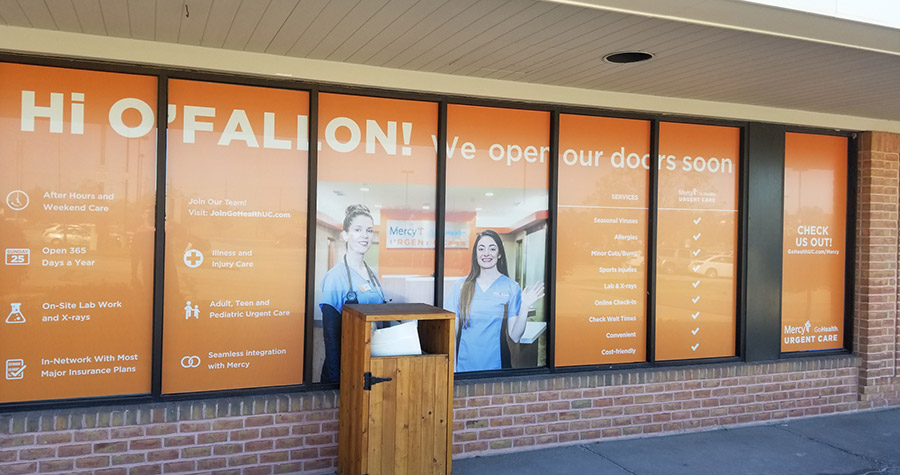 Urgent Care Window Graphics
