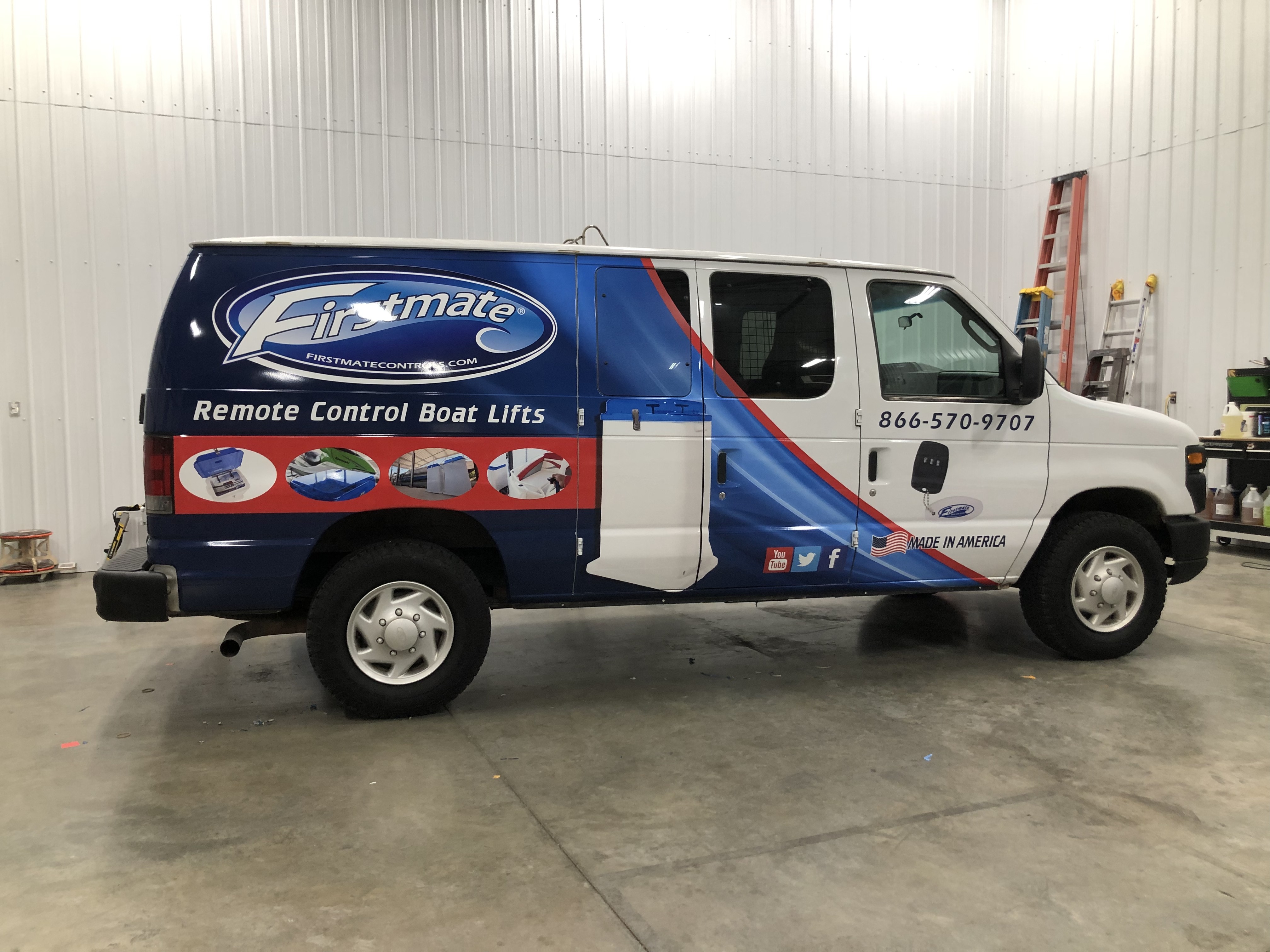 Partial Van Wrap for Firstmate Controls